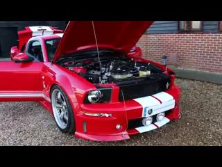 Ford mustang shelby gt 500 supercharged 5.4 v8 6 speed manual lhd 700bhp in colo