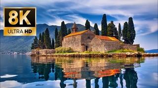 Mediterranean Charming Coastal Towns 8K Ultra HD Drone Video
