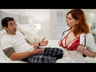 Annabel Red - Big Titted Nurses Volume 2 Scene 1 - Dick Pills (Big Tits, Blowjob, Redhead, Nurse, Doctor, Uniform)