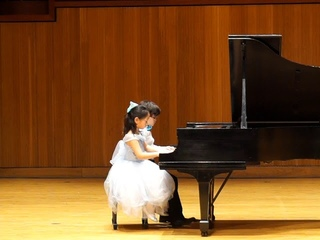 RMA Students Emma Zhou and Wenzhang Vazquez Performing Autumn Waltz by Dannis Alexander