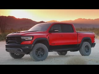 Новый RAM 1500 TRX (2021)_ убийца Ford F-150 Raptor! Все подробности