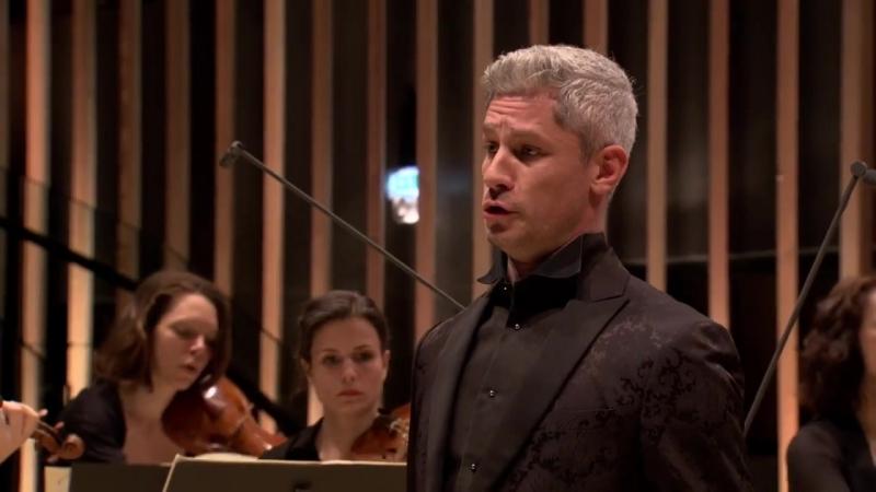 82 (1) J. S. Bach - Ich habe genug, BWV 82 Aria (C minor) - Edwin Crossley Mercer - Concert de la Loge