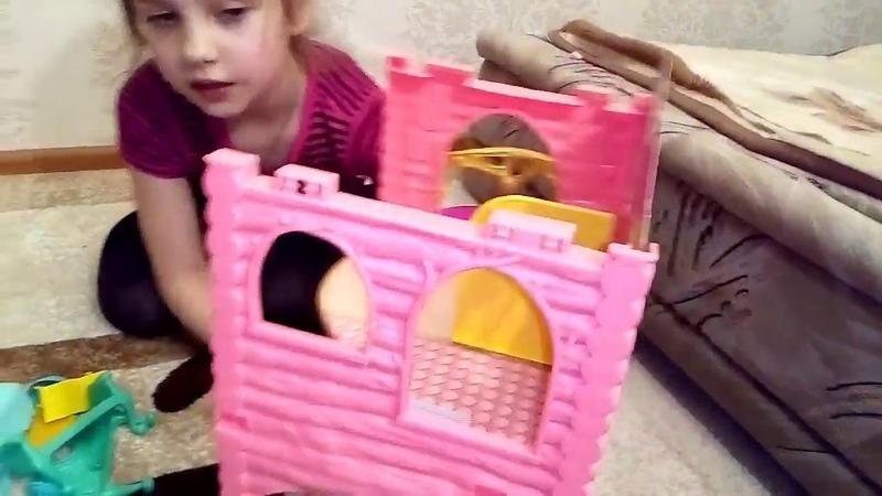 Домик ЭНЧАНТИМАЛС распаковка игрушек обзор игрушек часть 1 или House ANANIMALS review toys part 1