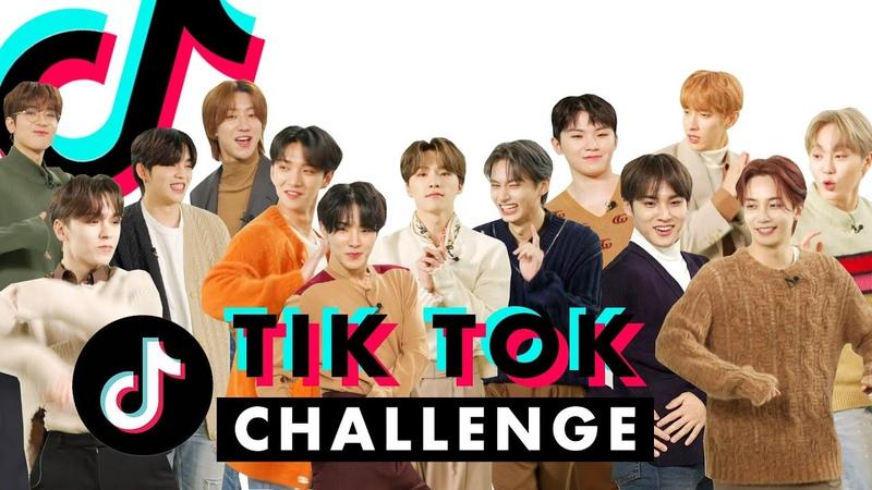 SEVENTEEN Pairs Up to Crush These TikTok Dances!   TikTok Challenge Challenge   Cosmopolitan