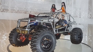 RC Car | Easy creation of a radio-control car body of metal with your own hands. TR3 Project.