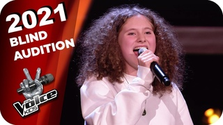Sara Bareilles - She Used To Be Mine (Maya) | The Voice Kids 2021 | Blind Auditions