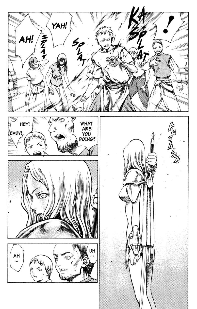 Claymore, Chapter 12, image #5