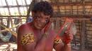 Kalapalo Parque Indigena Alto Xingu river Brazil Naked tribe in remote area Mato Grosso Brasil