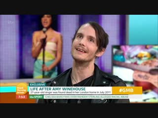 Amy winehouses ex-husband hits out at new hologram tour _ good morning britain