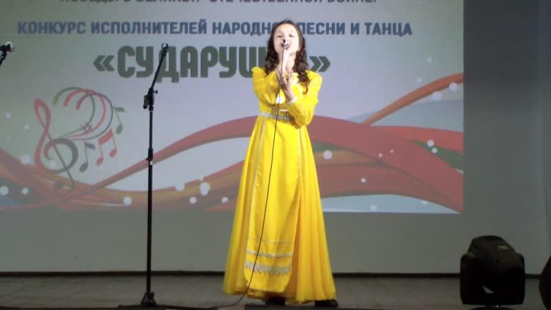 Сердце земли моей Алена Песцова Сл В Соловьева муз К Брейтбург 14 лет Суджанская ДШИ
