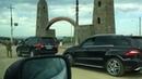 Июль 2014, г. Грозный,проезд по пос.Черноречье, во время открытия Дамбы