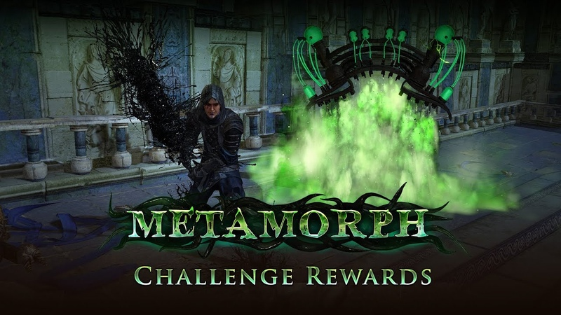Path of Exile Metamorph Challenge Rewards