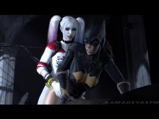 3d porn batman asylum ep iii (dc comics sex) [порно, секс, хентай, анал, минет]
