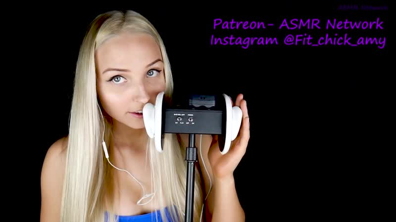 WET MOUTH SOUNDS , EAR LICKING AND KISSES ASMR