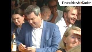 Exklusives Videomaterial aufgetaucht: Strauß zerlegt Söder!