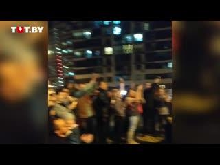 Российская группа 'Каста' связалась по видео с жителями ЖК 'Минск-Мир' 26 сентября