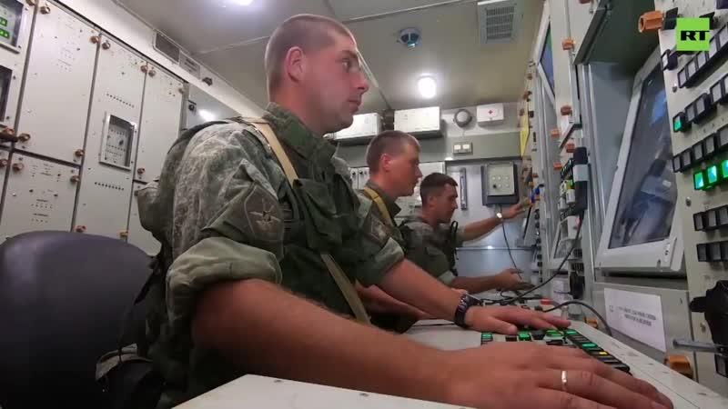 Испытания ПВО на полигоне Ашулук в рамках учений Кавказ 2020