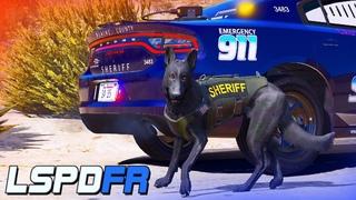 SHERIFF K-9 |#12| СТРИМ |LSPDFR GTA 5 | ЛСПДФР ГТА 5 | K9-UNIT