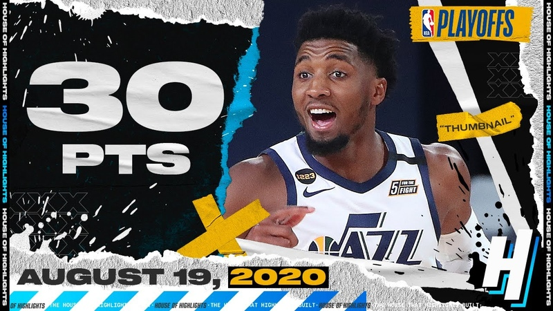 Donovan Mitchell 30 Points 8 Ast Full Game 2 Highlights Jazz vs Nuggets 2020 NBA Playoffs