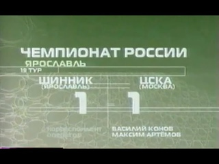 Шинник - ЦСКА. Чемпионат России 2003. Первый гол Ивицы Олича
