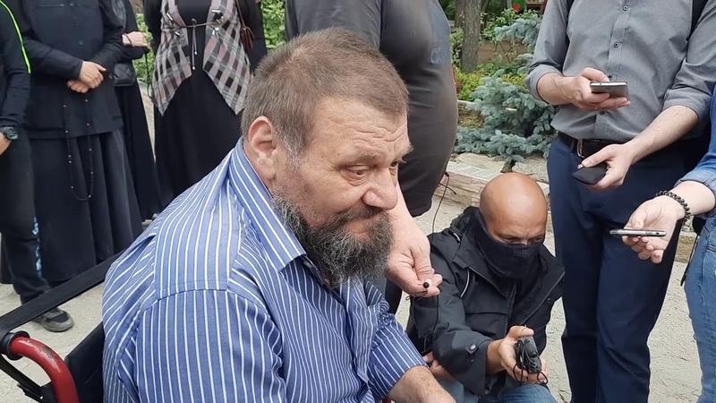 Куповатский Вячеслав потерял ноги и стал никому не нужен Отец Сергий взял его в монастырь