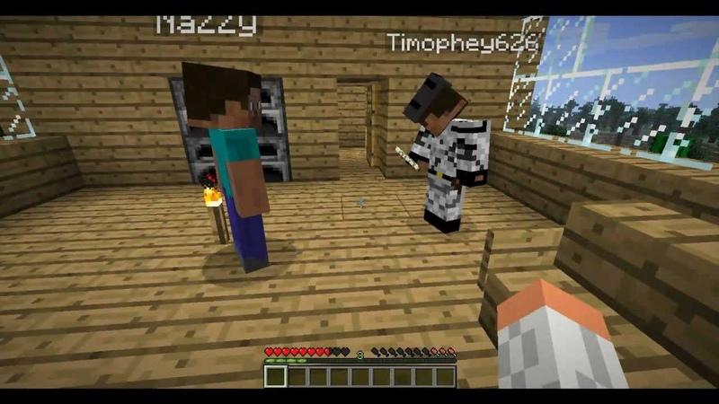 Месть Херобрина 1 серия Minecraft сериал