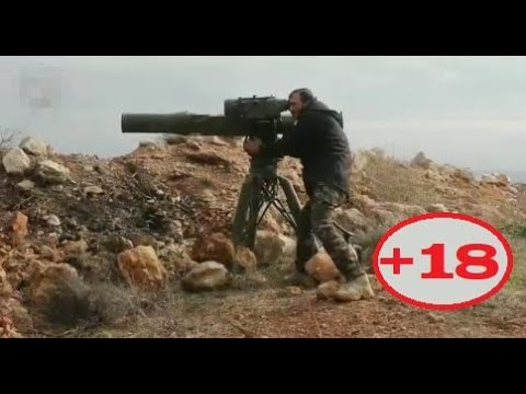 18 Turkish backed militants using Guided Missiles Second week of February 2020 Syria