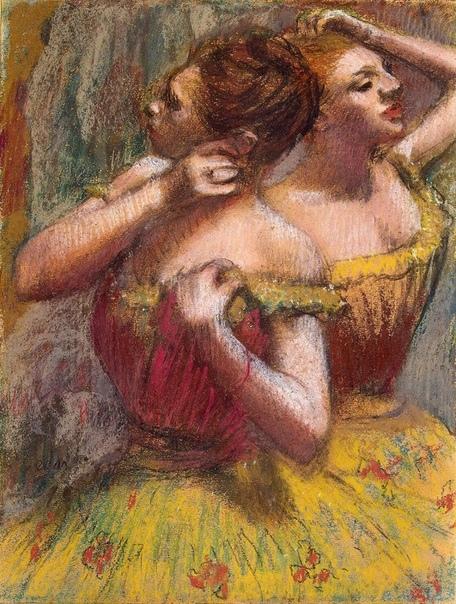 Две танцовщицы, Эдгар Дега
