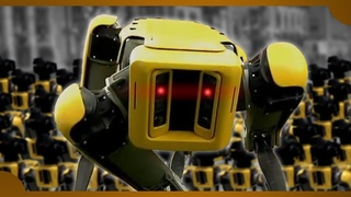 Boston Dynamics – Robot SPOT mini Evolution: DARPA