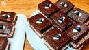 Шоколадные пирожные с прослойкой из нежного суфле с крупинками шоколада🍫 Меню от Ксюши