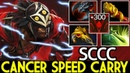 SCCC [Bloodseeker] Cancer Speed Carry is Here Against Pro Gyro 7.22 Dota 2