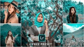 How to edit Aqua and teal brown  - Lightroom mobile tutorial free preset