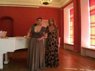 "Ekaterina Arnu and Anna Galkina  ""Flowers Duet"" from opera ""Lakme"""