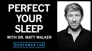 Dr. Matthew Walker: The Science & Practice of Perfecting Your Sleep | Huberman Lab Podcast #31