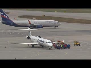 Россия возобновила авиарейсы для вывоза граждан из-за рубежа