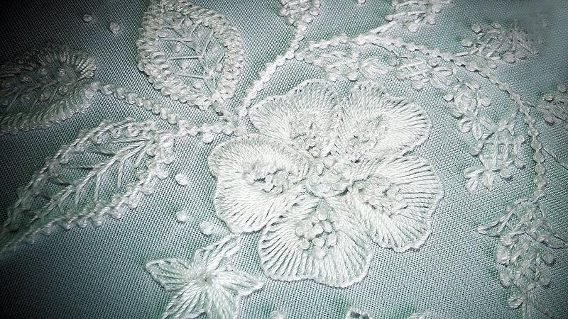 Embroidery:White work | Белая Вышивка |