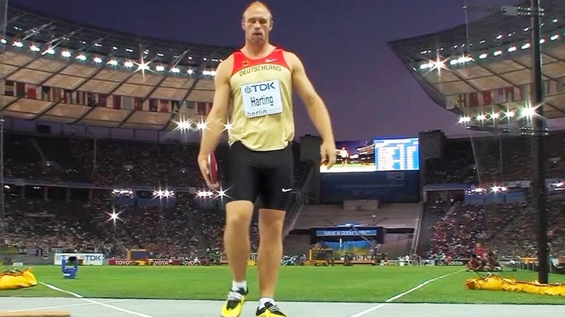 Mens Discus Throw Final - World Championships Berlin 2009 - 50fps