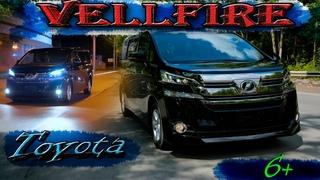 Toyota Vellfire полный обзор / V-2.5 не гибрид / Минивэн мечта!
