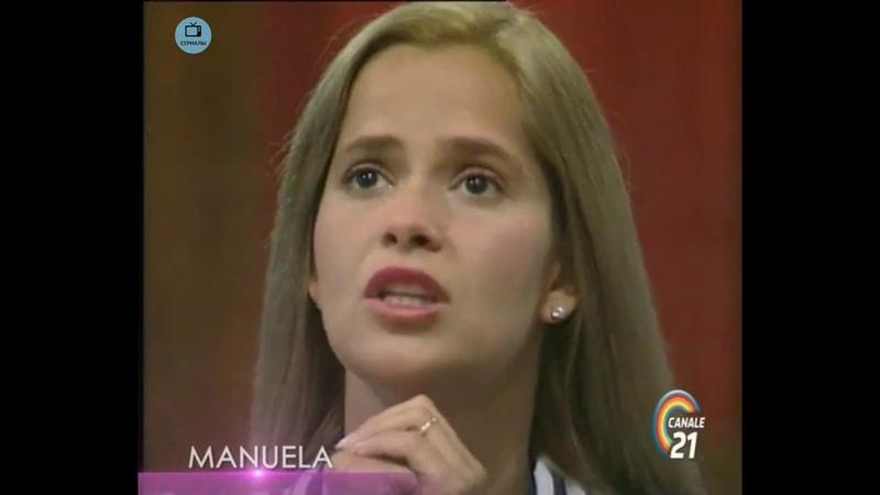 🎭 Сериал Мануэла 227 серия, 1991 год, Гресия Кольминарес, Хорхе Мартинес