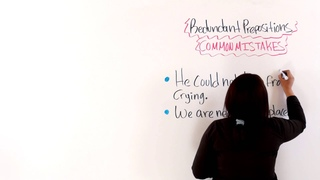 English Grammar: Redundant Prepositions -- Common Mistakes