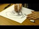 サインをもらう人目線で見た森薫さんのサイン風景