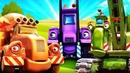 Новый мультсериал про машинки— Стройка! Без паники! —Машины-помощники для детей