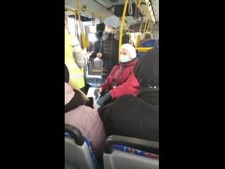 В Перми девушку без маски вытолкнули из автобуса