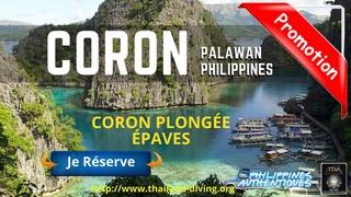 🐡Croisière Plongée Scuba a #Coron Philippines Palawan, Séjour plongée epaves a Appo Reef, Barracuda