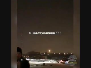Ёлка из автовышек в иркутске