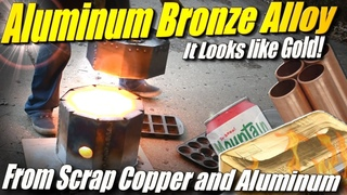 How to Make Aluminum Bronze: Alloying Molten Copper and Aluminum at Home