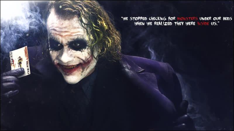 Джокер / The Dark Knight / Темный Рыцарь (2008) / best moments film movie nostalgia