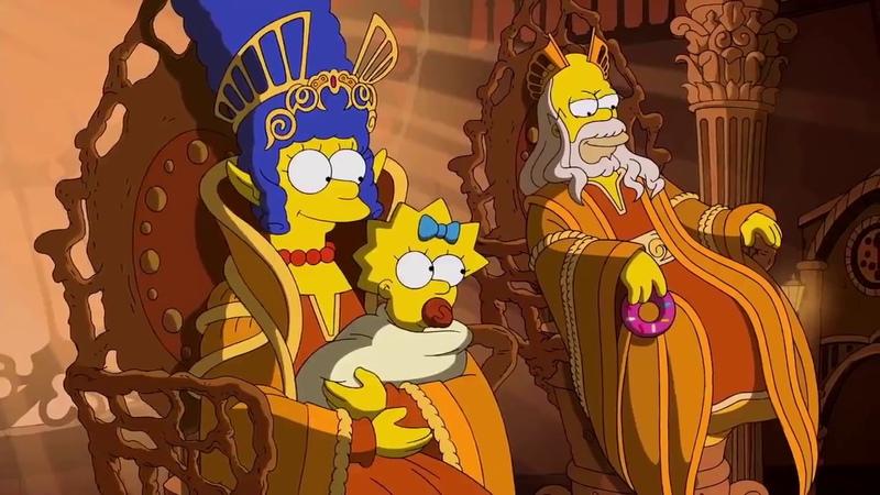 Заставка для Симпсонов Гильермо Дель Торо