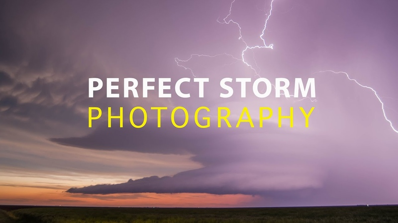 PHOTOGRAPHING THE PERFECT STORM and ruining it