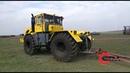 Обкатка трактора Кировец К-700 с двигателем ЯМЗ 238. После капитального ремонта.